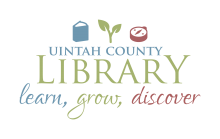 "Uintah county logo that says ""learn, grow, discover"""